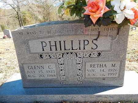 PHILLIPS, GLENN  C - Anderson County, Tennessee   GLENN  C PHILLIPS - Tennessee Gravestone Photos