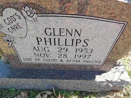 PHILLIPS, GLENN - Anderson County, Tennessee | GLENN PHILLIPS - Tennessee Gravestone Photos