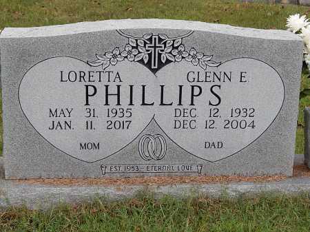 PHILLIPS, GLENN E - Anderson County, Tennessee | GLENN E PHILLIPS - Tennessee Gravestone Photos
