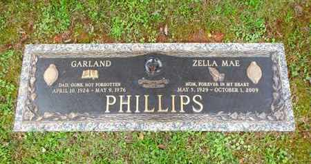 PHILLIPS, GARLAND - Anderson County, Tennessee | GARLAND PHILLIPS - Tennessee Gravestone Photos