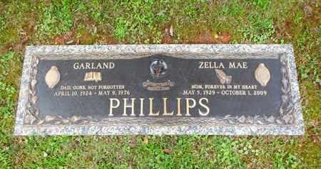 WEST PHILLIPS, ZELLA MAE - Anderson County, Tennessee | ZELLA MAE WEST PHILLIPS - Tennessee Gravestone Photos