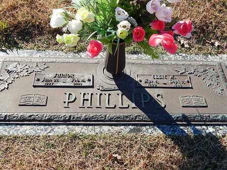 PHILLIPS, JUNIOR - Anderson County, Tennessee | JUNIOR PHILLIPS - Tennessee Gravestone Photos