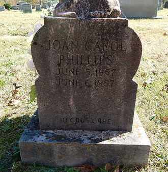 PHILLIPS, JOAN CAROL - Anderson County, Tennessee   JOAN CAROL PHILLIPS - Tennessee Gravestone Photos