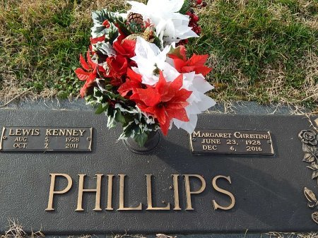 PHILLIPS, LEWIS KENNEY - Anderson County, Tennessee   LEWIS KENNEY PHILLIPS - Tennessee Gravestone Photos