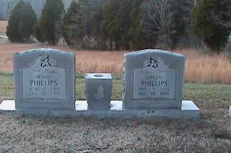 PHILLIPS, MARIE - Anderson County, Tennessee | MARIE PHILLIPS - Tennessee Gravestone Photos