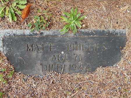 PHILLIPS, MATT - Anderson County, Tennessee | MATT PHILLIPS - Tennessee Gravestone Photos