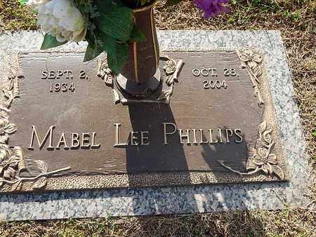 PHILLIPS, MABEL LEE - Anderson County, Tennessee | MABEL LEE PHILLIPS - Tennessee Gravestone Photos