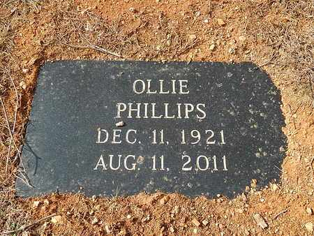 PHILLIPS, OLLIE - Anderson County, Tennessee | OLLIE PHILLIPS - Tennessee Gravestone Photos
