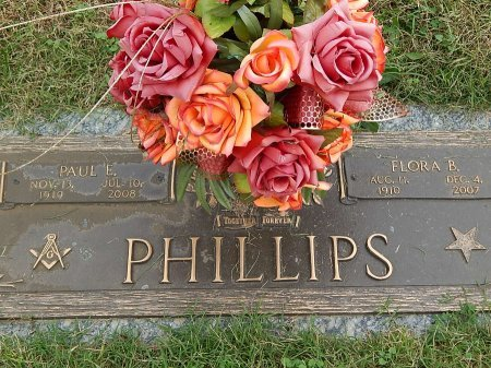 PHILLIPS, PAUL E - Anderson County, Tennessee | PAUL E PHILLIPS - Tennessee Gravestone Photos