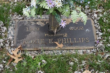 HERRELL PHILLIPS, ROXIE - Anderson County, Tennessee | ROXIE HERRELL PHILLIPS - Tennessee Gravestone Photos