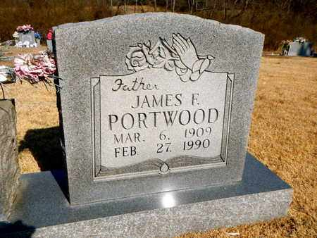 PORTWOOD, JAMES F - Anderson County, Tennessee | JAMES F PORTWOOD - Tennessee Gravestone Photos