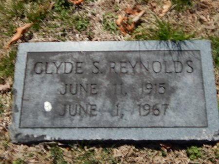 REYNOLDS, CLYDE S - Anderson County, Tennessee | CLYDE S REYNOLDS - Tennessee Gravestone Photos