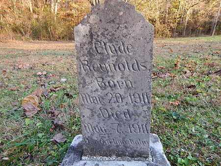 REYNOLDS, CLYDE - Anderson County, Tennessee | CLYDE REYNOLDS - Tennessee Gravestone Photos