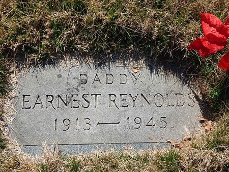 REYNOLDS, EARNEST - Anderson County, Tennessee | EARNEST REYNOLDS - Tennessee Gravestone Photos