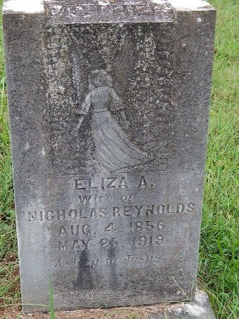 REYNOLDS, ELIZA A - Anderson County, Tennessee   ELIZA A REYNOLDS - Tennessee Gravestone Photos