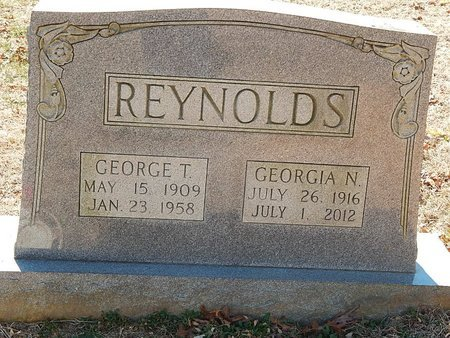 REYNOLDS, GEORGIA N - Anderson County, Tennessee | GEORGIA N REYNOLDS - Tennessee Gravestone Photos
