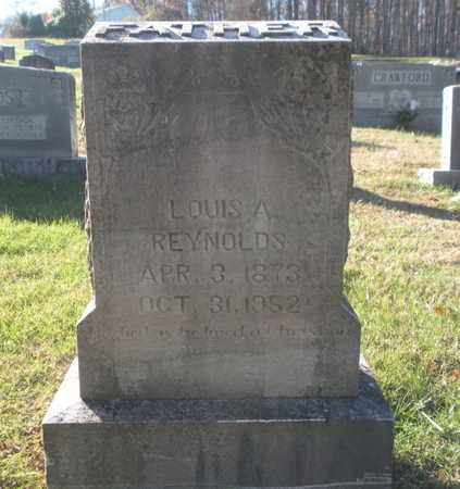 REYNOLDS, LOUIS A - Anderson County, Tennessee | LOUIS A REYNOLDS - Tennessee Gravestone Photos