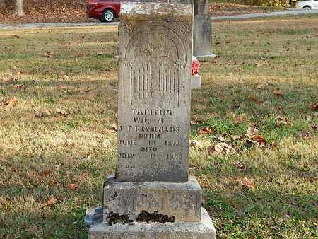 REYNOLDS, TABITHA - Anderson County, Tennessee | TABITHA REYNOLDS - Tennessee Gravestone Photos