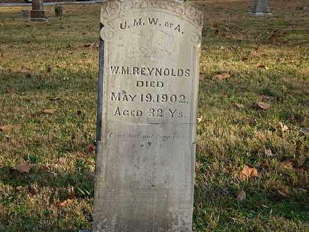 REYNOLDS, W M - Anderson County, Tennessee   W M REYNOLDS - Tennessee Gravestone Photos