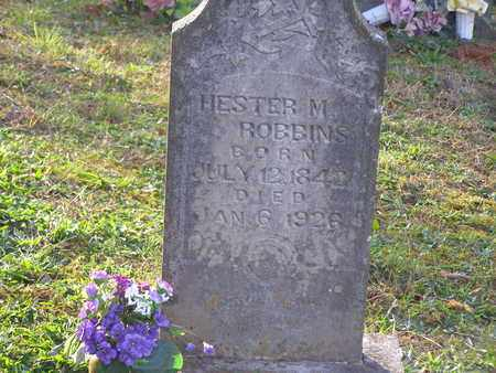 ROBBINS, HESTER M - Anderson County, Tennessee   HESTER M ROBBINS - Tennessee Gravestone Photos