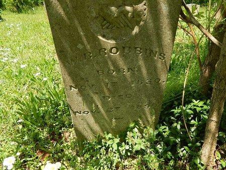 ROBBINS, W B - Anderson County, Tennessee | W B ROBBINS - Tennessee Gravestone Photos