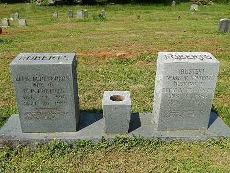 ROBERTS, EFFIE M - Anderson County, Tennessee | EFFIE M ROBERTS - Tennessee Gravestone Photos