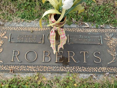 ROBERTS, JOSEPH S - Anderson County, Tennessee | JOSEPH S ROBERTS - Tennessee Gravestone Photos