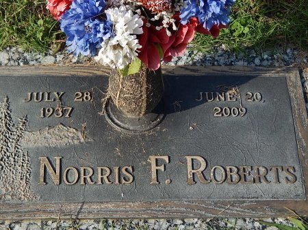 ROBERTS, NORRIS F - Anderson County, Tennessee | NORRIS F ROBERTS - Tennessee Gravestone Photos