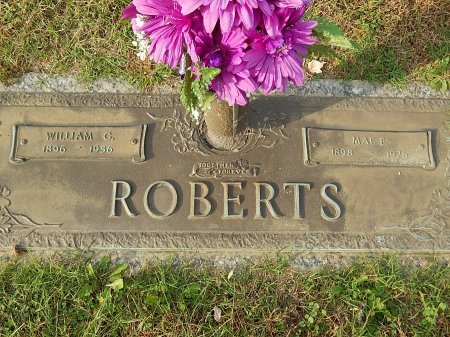 ROBERTS, WILLIAM C - Anderson County, Tennessee | WILLIAM C ROBERTS - Tennessee Gravestone Photos