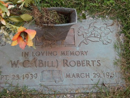 ROBERTS, W C (BILL) - Anderson County, Tennessee | W C (BILL) ROBERTS - Tennessee Gravestone Photos