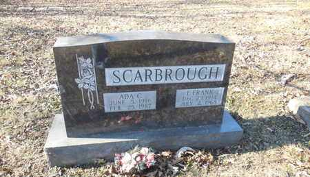 SCARBROUGH, ADA C - Anderson County, Tennessee | ADA C SCARBROUGH - Tennessee Gravestone Photos