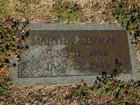 SHARPE, MARTHA - Anderson County, Tennessee | MARTHA SHARPE - Tennessee Gravestone Photos