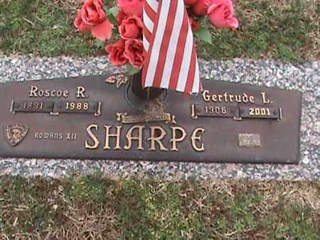 SHARPE, ROSCOE R - Anderson County, Tennessee | ROSCOE R SHARPE - Tennessee Gravestone Photos