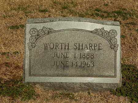 SHARPE, WORTH - Anderson County, Tennessee   WORTH SHARPE - Tennessee Gravestone Photos