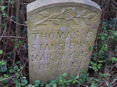 STANSBERRY, THOMAS G - Anderson County, Tennessee | THOMAS G STANSBERRY - Tennessee Gravestone Photos