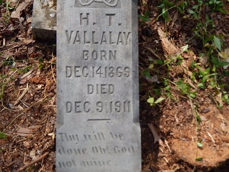 VALLALAY, H T - Anderson County, Tennessee   H T VALLALAY - Tennessee Gravestone Photos