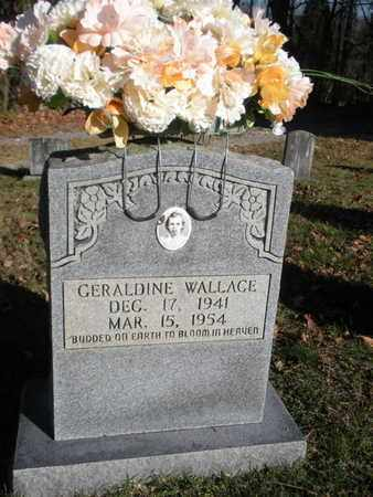 WALLACE, GERALDINE - Anderson County, Tennessee | GERALDINE WALLACE - Tennessee Gravestone Photos
