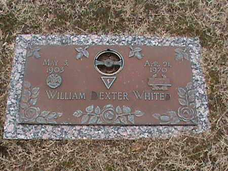 WHITED, WILLIAM DEXTER - Anderson County, Tennessee | WILLIAM DEXTER WHITED - Tennessee Gravestone Photos