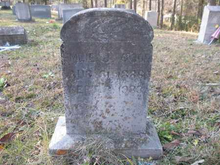 WOODS, EMILY JANE - Anderson County, Tennessee | EMILY JANE WOODS - Tennessee Gravestone Photos