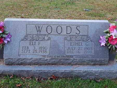 WOODS, ELI F - Anderson County, Tennessee | ELI F WOODS - Tennessee Gravestone Photos