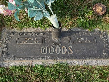 WOODS, ELLA - Anderson County, Tennessee | ELLA WOODS - Tennessee Gravestone Photos