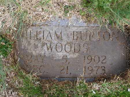 WOODS, WILLIAM BURTON - Anderson County, Tennessee   WILLIAM BURTON WOODS - Tennessee Gravestone Photos