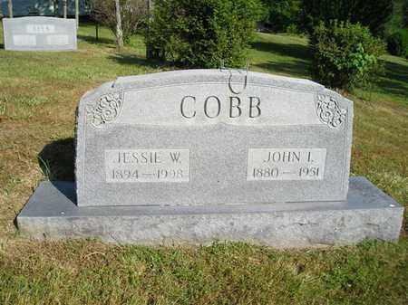 COBB, JOHN I. - Bedford County, Tennessee | JOHN I. COBB - Tennessee Gravestone Photos