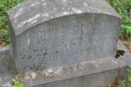 COOPER, REBECCA F. - Bedford County, Tennessee   REBECCA F. COOPER - Tennessee Gravestone Photos
