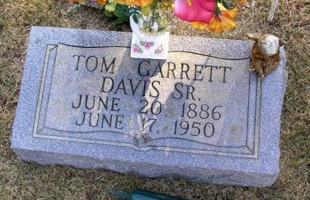 DAVIS SR, TOM GARRETT - Bedford County, Tennessee | TOM GARRETT DAVIS SR - Tennessee Gravestone Photos
