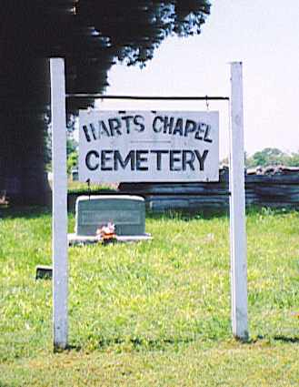 *HARTS CHAPEL SIGN,  - Bedford County, Tennessee |  *HARTS CHAPEL SIGN - Tennessee Gravestone Photos