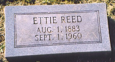 REED, ETTIE - Bedford County, Tennessee | ETTIE REED - Tennessee Gravestone Photos