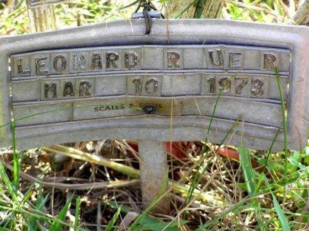 RUCKER, LEONARD - Bedford County, Tennessee   LEONARD RUCKER - Tennessee Gravestone Photos