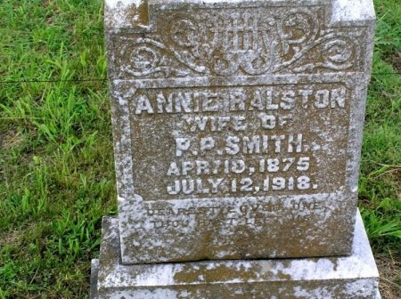 RALSTON SMITH, ANNIE - Bedford County, Tennessee   ANNIE RALSTON SMITH - Tennessee Gravestone Photos