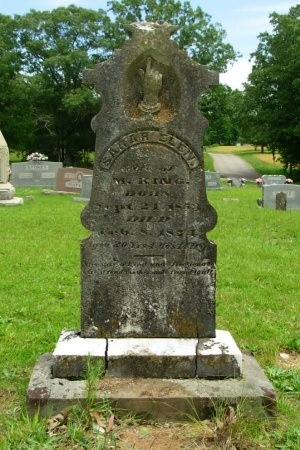 KING, SARAH ELEN - Benton County, Tennessee | SARAH ELEN KING - Tennessee Gravestone Photos